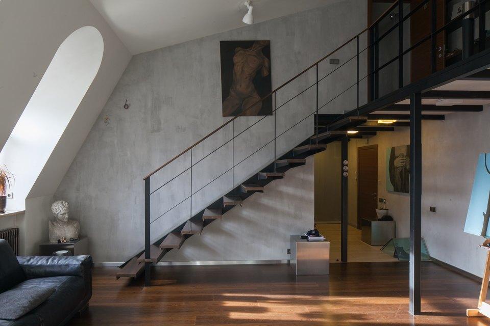 Двухуровневая квартира наПетроградской. Изображение № 9.