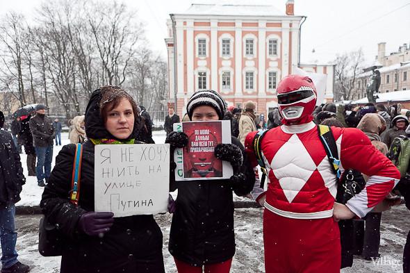 Два санкционированных митинга в Петербурге собрали 2 500 человек. Изображение № 40.
