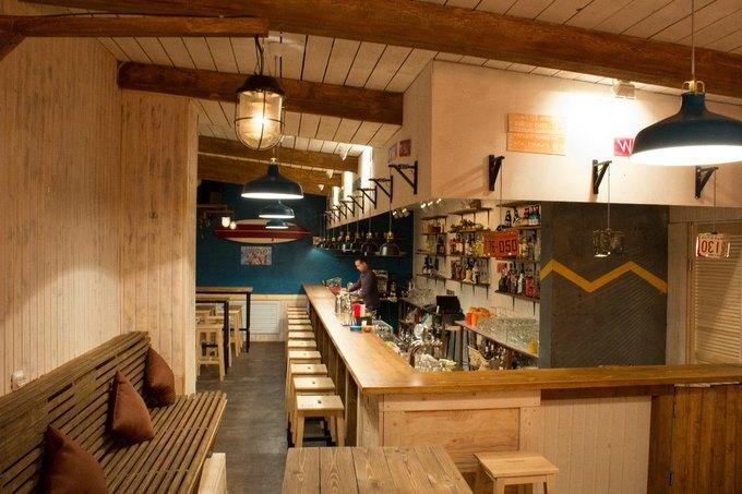 В «Третьем кластере» открылся бар «Пирс8/4». Изображение № 1.