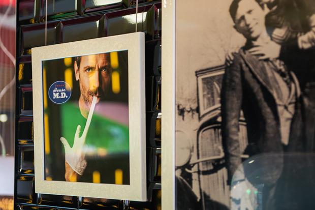 «Две палочки» открылись в стиле американского придорожного кафе. Изображение № 9.