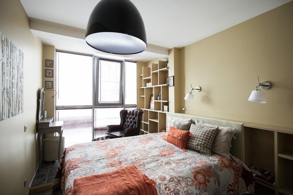 Трёхкомнатная квартира вскандинавском стиле наберегуозера . Изображение № 15.