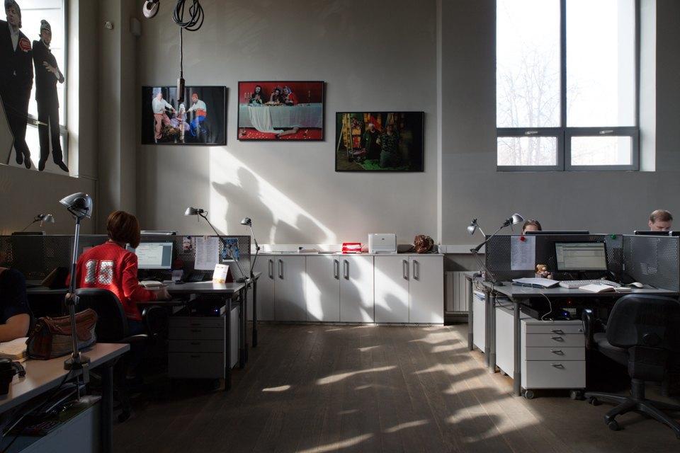 Офис радиостанции «Серебряныйдождь». Изображение № 34.