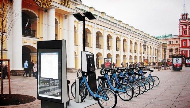 «Велосипедизация» представила проект общественного велопроката. Изображение № 1.