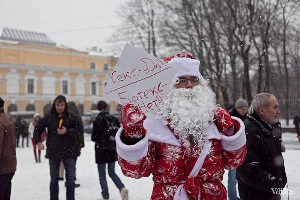 Два санкционированных митинга в Петербурге собрали 2 500 человек. Изображение № 46.