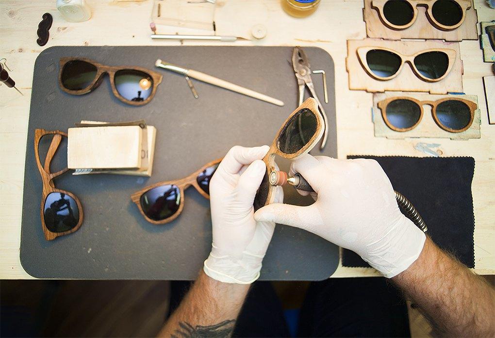 Как сделать тёмные очки 228