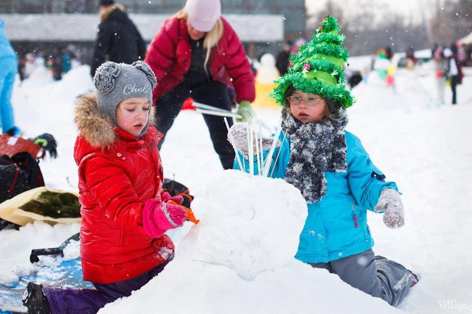 Люди в городе: «Арт-битва снеговиков». Изображение № 7.