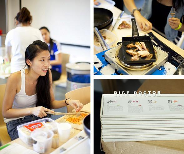 Время есть: репортаж с кулинарного мастер–класса на «Стрелке». Изображение № 3.
