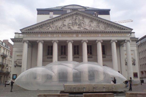 Идеи для города: Пузырь для митингов в плохую погоду. Изображение № 3.