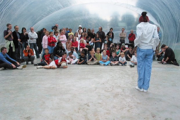 Идеи для города: Пузырь для митингов в плохую погоду. Изображение № 4.