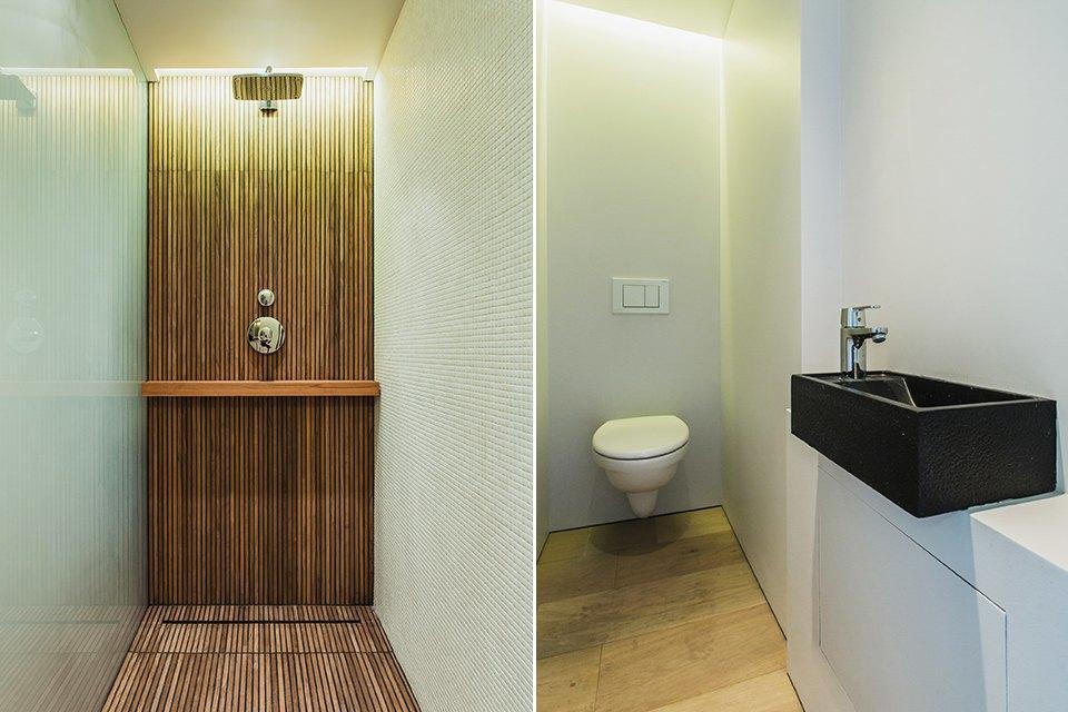 Двухэтажный лофт на «Рижской» сдагестанскими коврами. Изображение № 23.