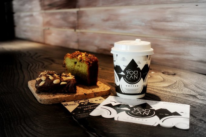 У «Технологического института» открылся кофе-бар YouCan . Изображение № 1.