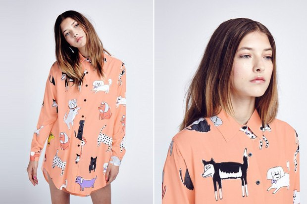 8 женских рубашек сузором. Изображение № 9.