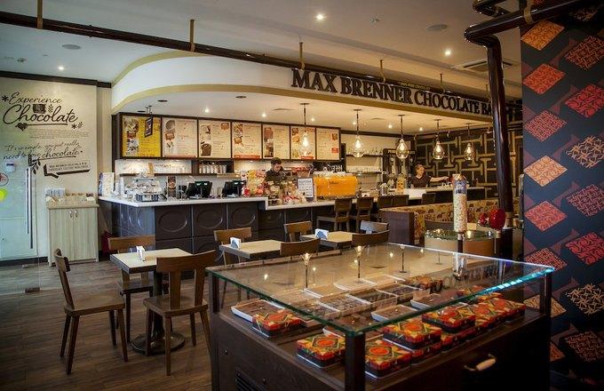 В«Метрополисе» открывается шоколадный бар Max Brenner. Изображение № 1.