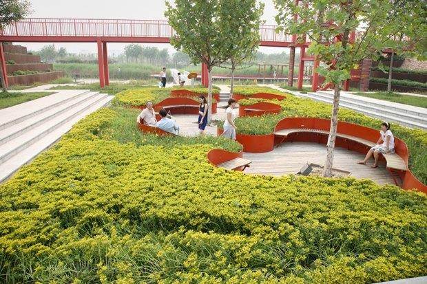 Идеи для города: Парк на месте свалки вТяньцзине. Изображение № 5.