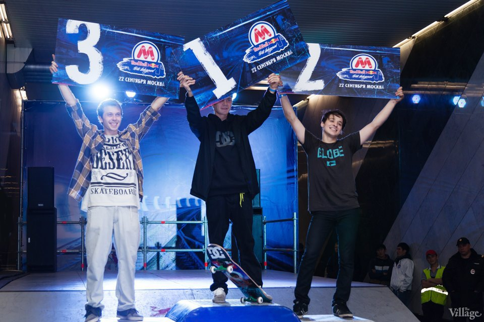 Фото ночи: Скейтерский чемпионат в метро. Изображение № 23.