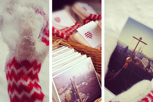 Все повязаны: Шапки, варежки, шарфы на катке. Изображение № 3.