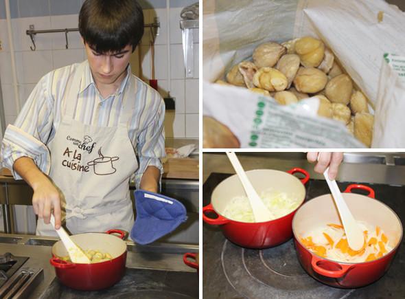 Время есть: Репортаж с мастер-класса в кулинарном ателье Comme Un Chef ресторана Carre Blanc. Изображение № 3.
