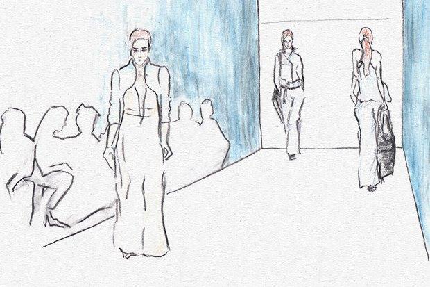 Клуб рисовальщиков: Показ мод. Изображение № 6.