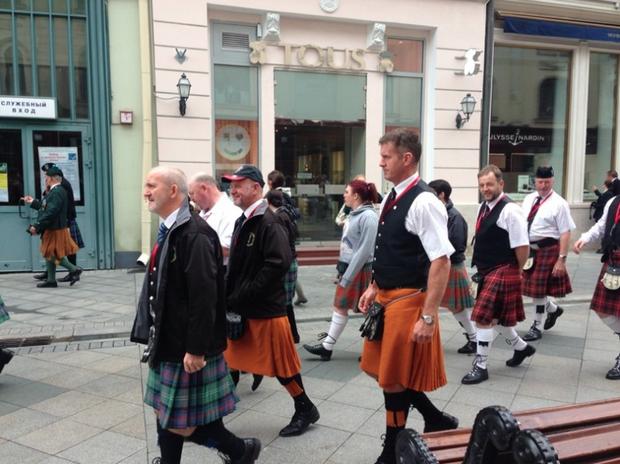 Шотландцы наНикольской улице. Изображение № 4.