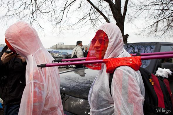 В Москве прошло арт-шествие в честь Дня космонавтики. Изображение № 34.