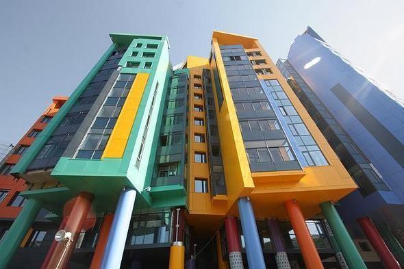 Изображение 8. На юго-западе Москвы открылась разноцветная детская больница.. Изображение № 3.