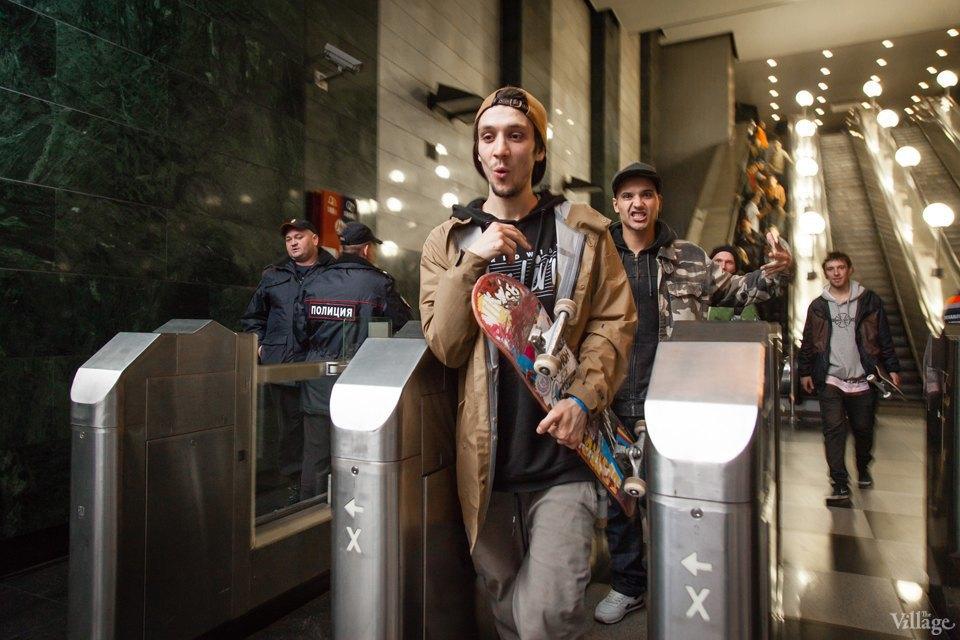 Фото ночи: Скейтерский чемпионат в метро. Изображение № 4.