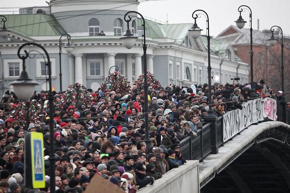 Фоторепортаж: Митинг против фальсификации выборов. Изображение № 22.
