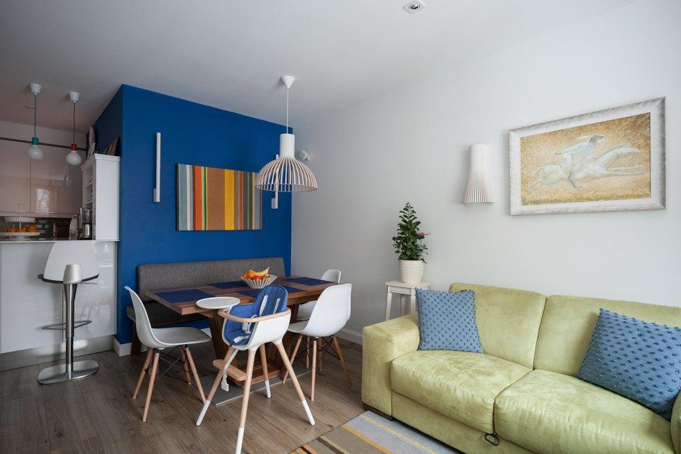 Трёхкомнатная квартира вскандинавском стиле наберегуозера . Изображение № 3.