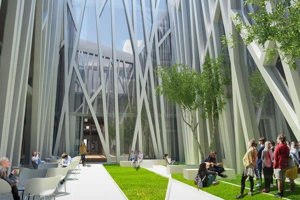 Европейский университет: 4 проекта реконструкции. Изображение № 12.