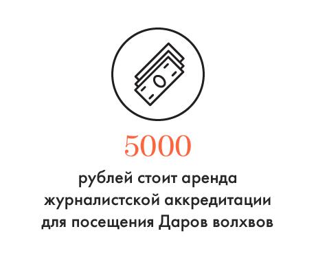 Цифра дня: За сколько продают аккредитацию на Дары волхвов в Петербурге. Изображение № 1.