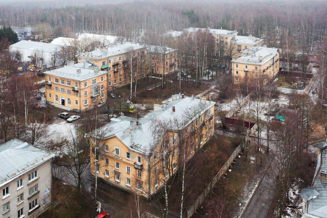 Вид на Старопарголовский жилмассив. Изображение № 2.