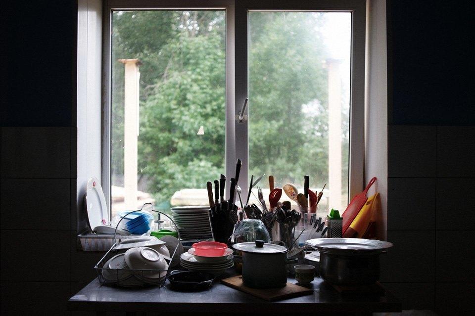 Украинские беженцы  в общежитии вПечатниках. Изображение № 9.