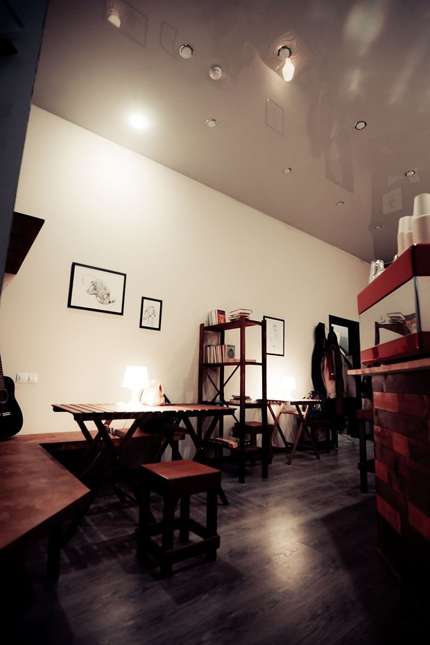 Кофейня Impress переехала вКовенский переулок. Изображение № 3.
