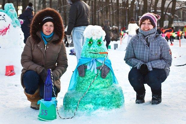Люди в городе: «Арт-битва снеговиков». Изображение № 36.