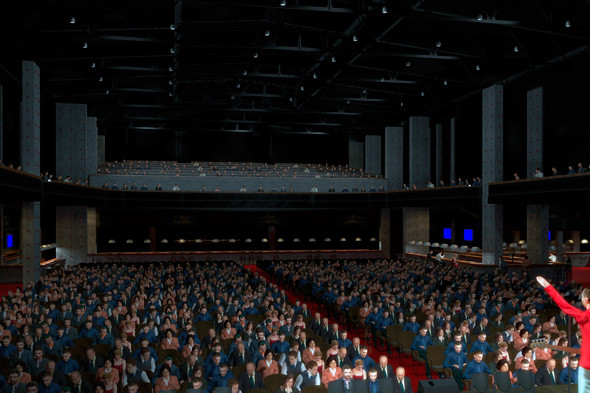 В Москве откроется новая концертная площадка на 8 тысяч зрителей. Изображение № 3.