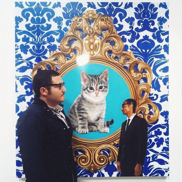 Музейные коты вснимках Instagram. Изображение № 9.