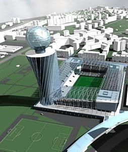 Изображение 5. Стадион ЦСКА достроят к концу 2012 года.. Изображение № 5.