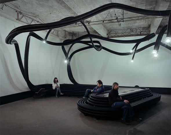Изображение 2. В баре «Стрелка» появится проект индустриального дизайнера Себастьяна Виринка.. Изображение № 4.