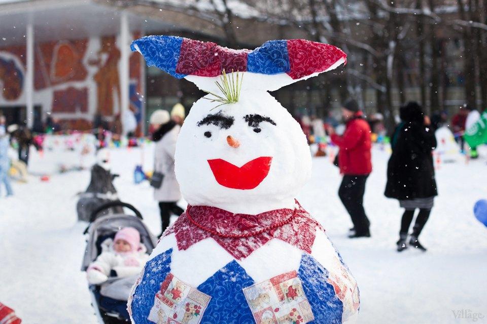 Люди в городе: «Арт-битва снеговиков». Изображение № 9.