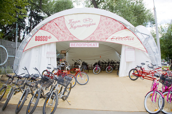 В парке Горького открылось три новых велопроката. Изображение № 3.