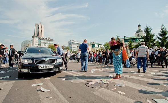 Copwatch: Действия полиции на празднике Ураза-Байрам в Москве. Изображение № 19.