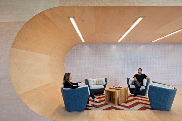 Новые подходы корганизации офисного пространства. Изображение № 6.