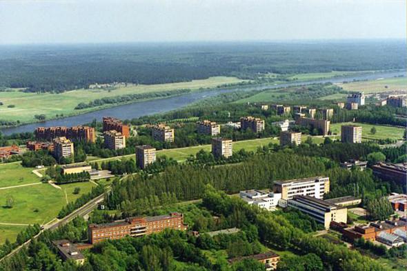 Город Пущино, один изнаучных центров Российской академии наук, с2005 года имеет статус наукограда. Изображение № 9.