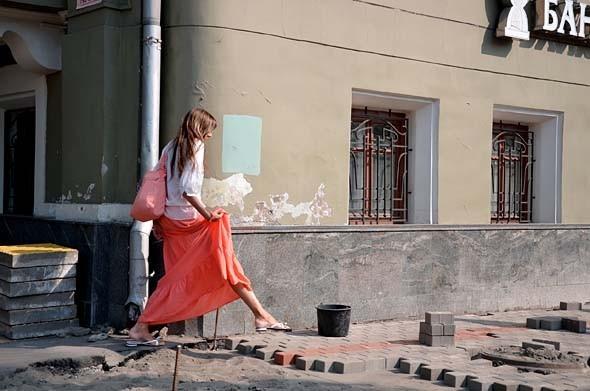Свежая укладка: как асфальт меняют на плитку в Москве. Изображение № 25.