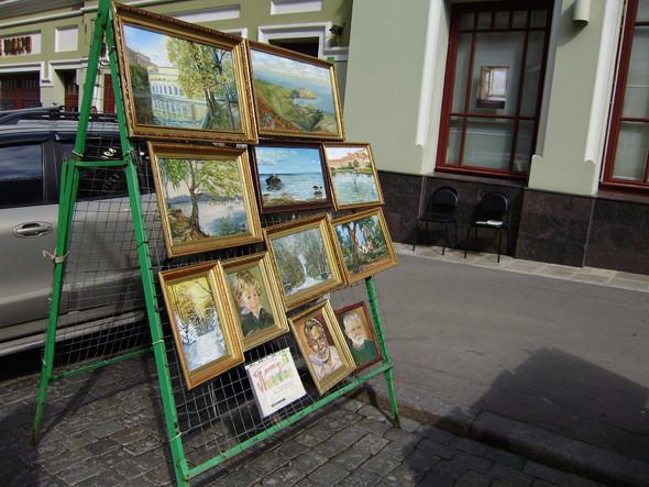 Портрет Хемингуэя художник Андрей продаёт за 4 000 рублей.. Изображение № 2.