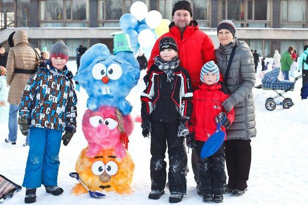 Люди в городе: «Арт-битва снеговиков». Изображение № 35.