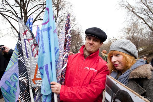 В Москве прошло арт-шествие в честь Дня космонавтики. Изображение № 4.