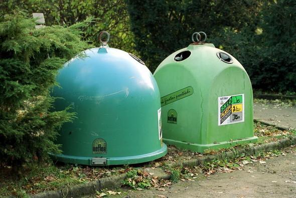 Во «Внуково» установили контейнеры для раздельного сбора мусора. Изображение № 17.