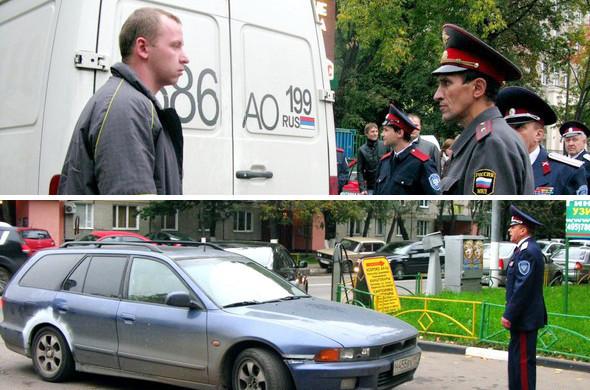 Воины ЮВАО: Казачий патруль на улицах Москвы. Изображение № 8.