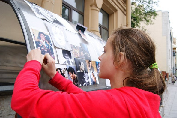 Поклонников Майкла Джексона задержали за нарушение закона о митингах. Изображение № 3.
